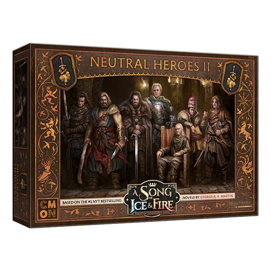 A Song of Ice Fire - Neutral Heroes II