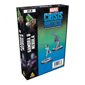 Marvel Crisis Protocol - Gamora and Nebula