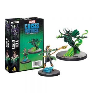Marvel Crisis Protocol - Loki and Hela
