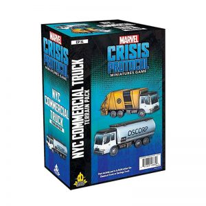Marvel Crisis Protocol - NYC Commercial Truck Pack
