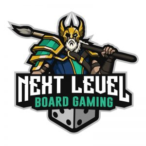 Next Level Board Gaming Logo