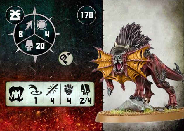 Warcry Flesh Hound Omega card