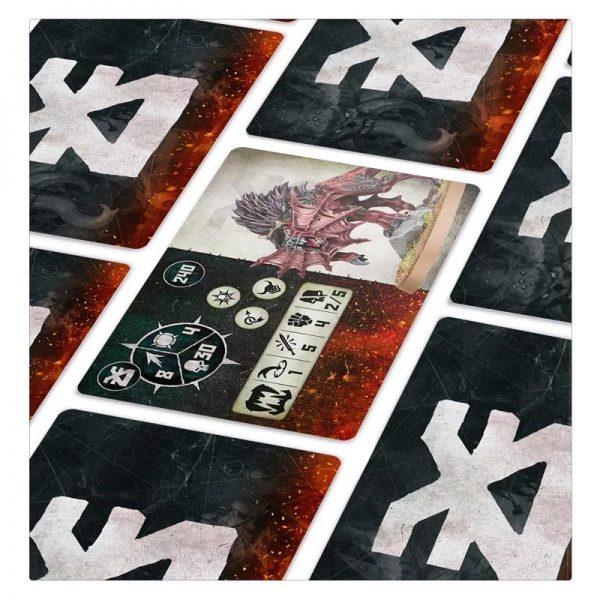 Warcry Blades of Khorne Daemons Cards