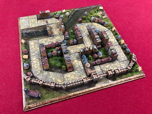 Bristol 1350 3D Game Board