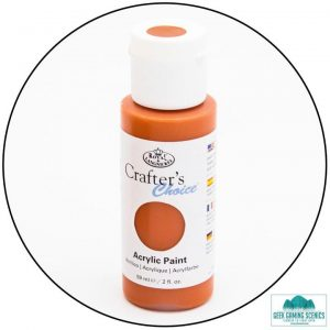 Crafters Choice 59ml - Mars Orange Paint