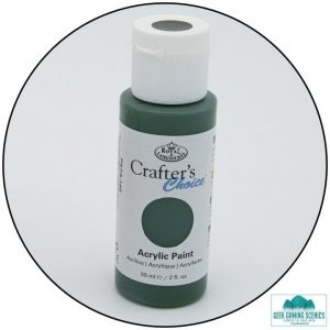 Crafters Choice 59ml - Olive Green (Blue) Paint