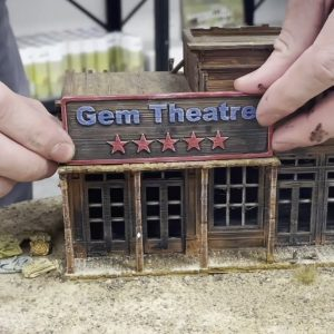 Deadwood 1876 - 3D Building Signs