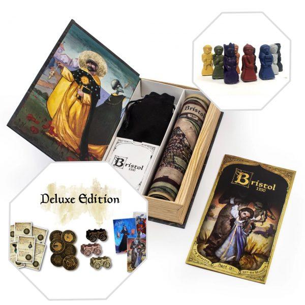 Bristol 1350 - Deluxe Edition + Meepawns (Kickstarter Special)